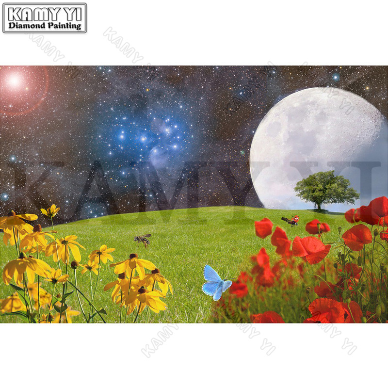 3D Rhinestone Painting Crystal Home Decor DIY Diamond Painting Cross Stitch