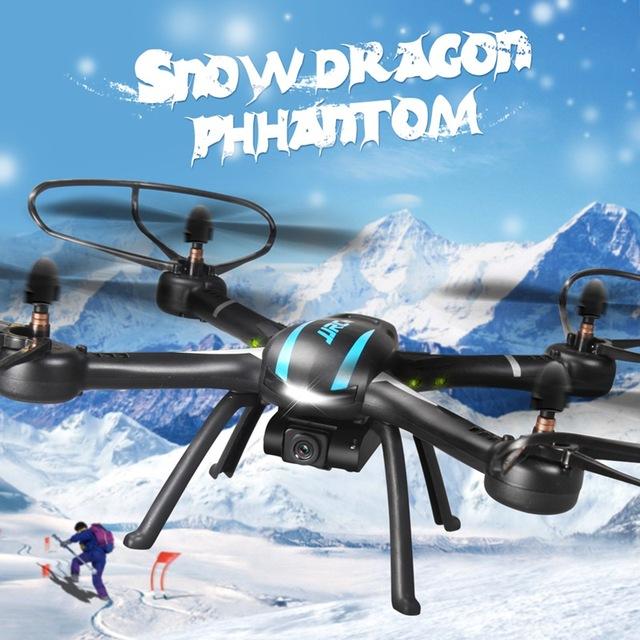 Best Deal JJRC H11C Com 2.0MP HD Câmera 2.4G 4CH 6 Eixo uma Tecla de Retorno RC Quadcopter RTF RC Quadcopter RC Helicóptero RC brinquedos