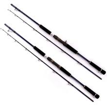 Big discount High quality 1 Pcs/Lot carbon material 1.8/2.1/2.4 m straight /shank handle sea/ pond/lake/river fishing rod