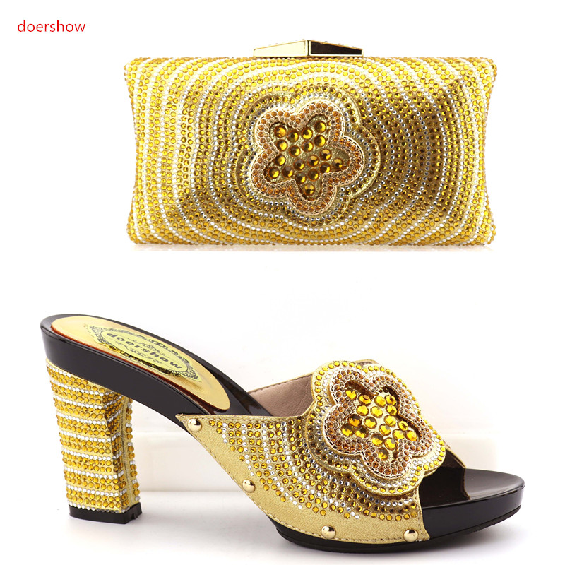 Shoes and Bag Summer African Style Shoes and Bag Set Italy African Shoes and Matching Bags for wedding OP1-11 hot artist new design summer style shoes and bag set african women shoes and matching bag set for wedding size 38 42 me7709
