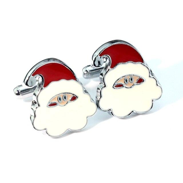 MMS Unique Design Santa Claus Cufflinks for Mens Cuff Bottons High ...