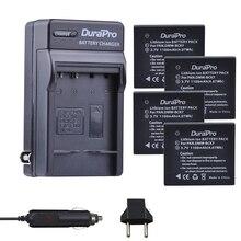4 шт. DMW-BCK7 DMW BCK7 3,7 В 1100 мАч литий-ионный Batteria машины Зарядное устройство для Panasonic DMC-S1A DMC-S1K DMC-S1N DMC-S1P DMC-S1S Батарея