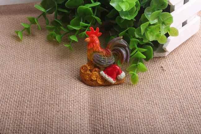 7 шт./компл. прекрасный курица 3D каучуковый холодильник магнит ремесла Сувенир Туризм подарок Горячая продажа домашний декор