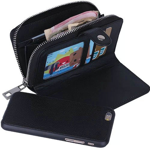san francisco a6e9f 029d0 Online Shop Travel Purse Bag Man Women Wallet with Magnetic Phone ...