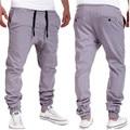 Durable 2016 Fashion Pants for men joggers plus size pants hip-hop drop crotch sweatpants harem trousers