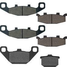 For Kawasaki ZG 1000 A9-A20/A6F Concours ZG1000 1994-1999 2000 2001 2002 2003 2004 2005 2006 Motorcycle Brake Pads Front Rear