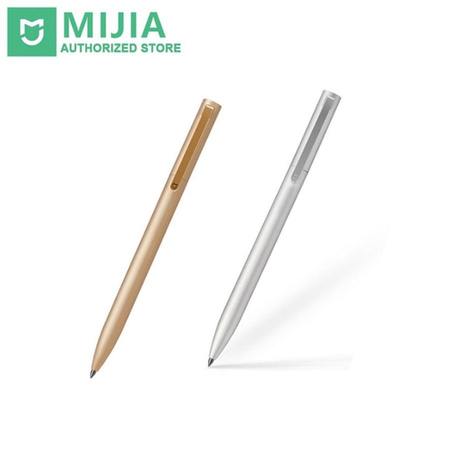 D'origine Xiaomi All Metal Mijia Signe 2 MI 0.5mm Signature PREMEC Lisse Suisse Recharge Encre Métallique Or Et Argent