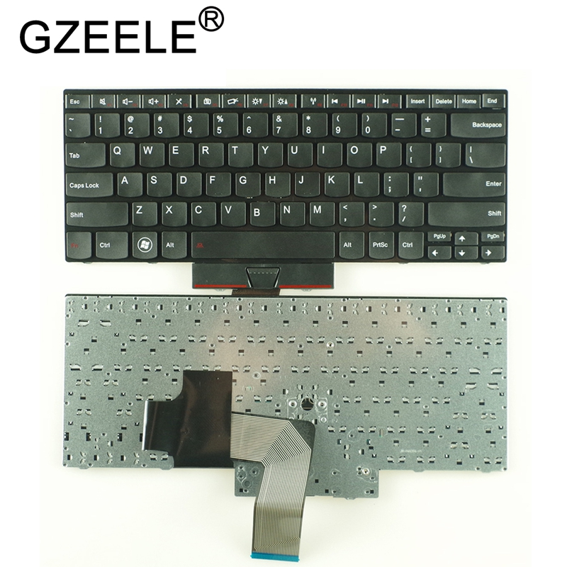 GZEELE New US Keyboard For Lenovo For ThinkPad Edge E320 E325 E420 E420S E425 English Version Black
