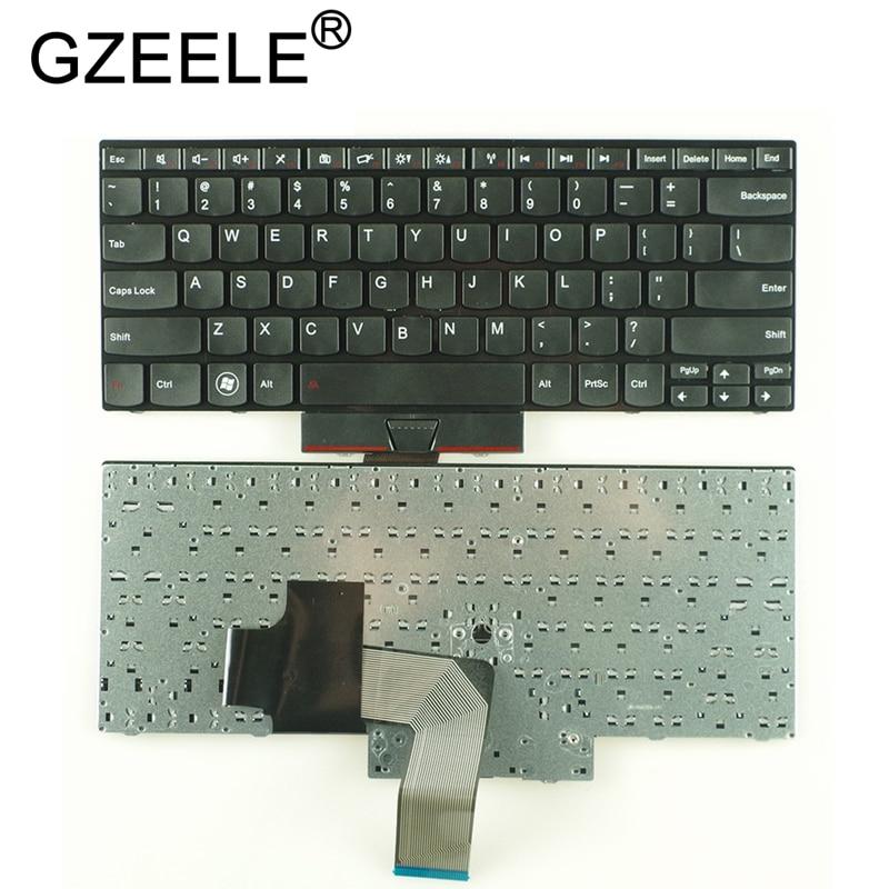 GZEELE New US Keyboard For Lenovo For ThinkPad Edge E320 E325 E420 E420S E425 English Version Black