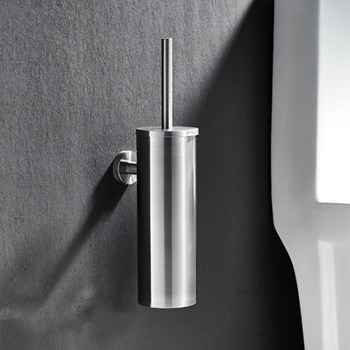 Туалетная щетка для чистки черного цвета с нержавеющей сталью настенный держатель щетки хромированная отделка чистящие средства для ванно...