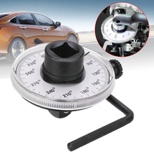 Mayitr 1 Set Auto Test Diagnotic Meter Garage Tool Car 1/2 Adjustable Drive Angle Torque Gauge Wrench for BMW Mercedes AT2136