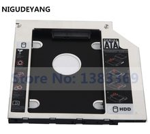 Nigudeyang sata 2nd 2.5 disco rígido ssd hdd caddy adaptador para lenovo thinkpad e550 e555 e560