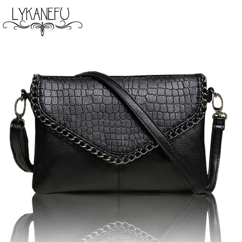 LYKANEFU Casual Small Bag For Women Messenger Bags For Women Shoulder Bags Crossbody Black Clutch Purse And Handbag Dollar Price
