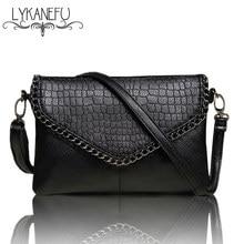 LYKANEFU Повседневная маленькая сумка для женщин сумки-мессенджеры для женщин сумки через плечо черный клатч кошелек и сумочка доллар цена