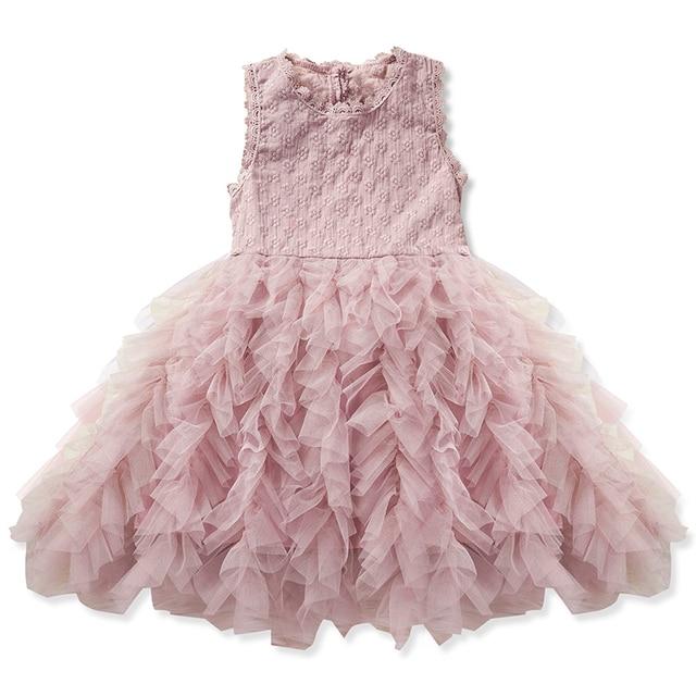e99ac30694d7 Vestido de marca para niña y bebé vestidos para niñas 3 4 5 6 7 8 ...