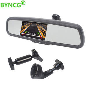 Car-Monitor Lcd-Mirror Parking Rear-View-Camera Passat Tiguan Chevrolet Cruze/epica TFT