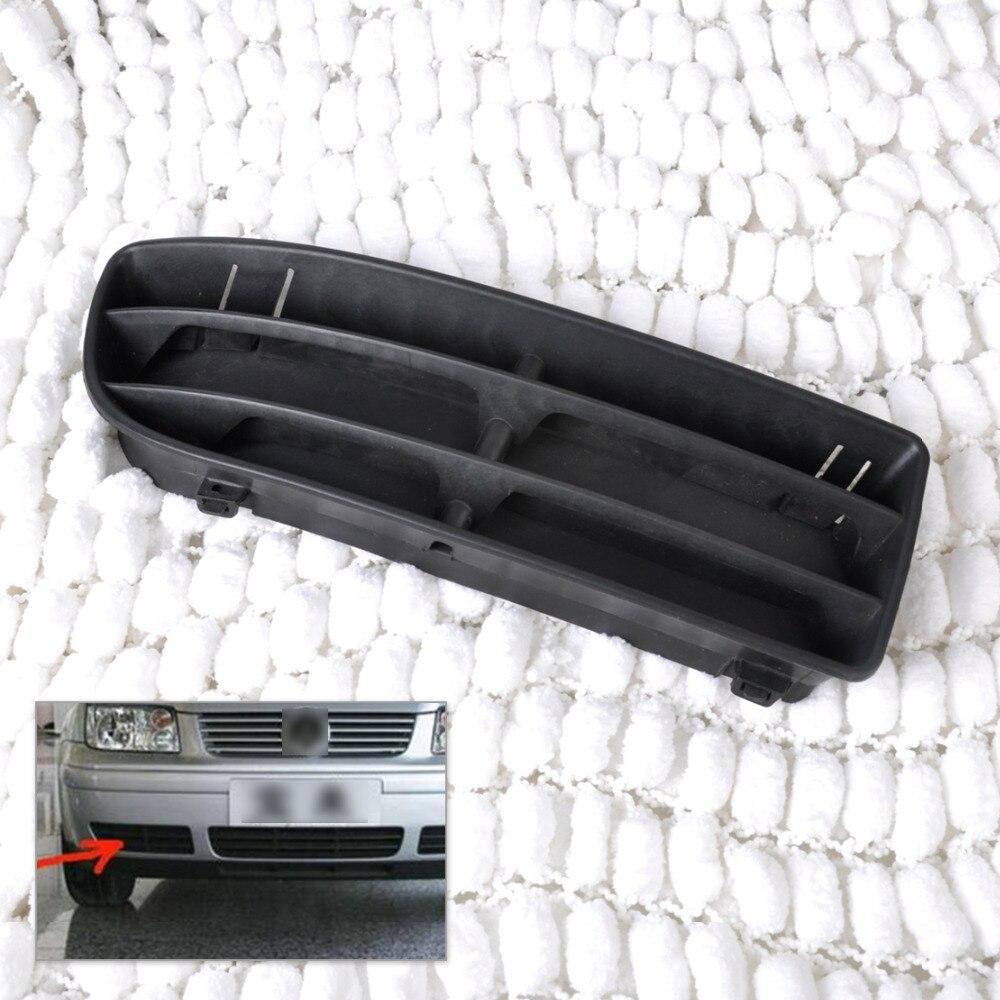 For 1999 2000 2001 2002 2003 2004 VW JETTA MK4 Bora Black Front Lower Center Grill Grille Bumper