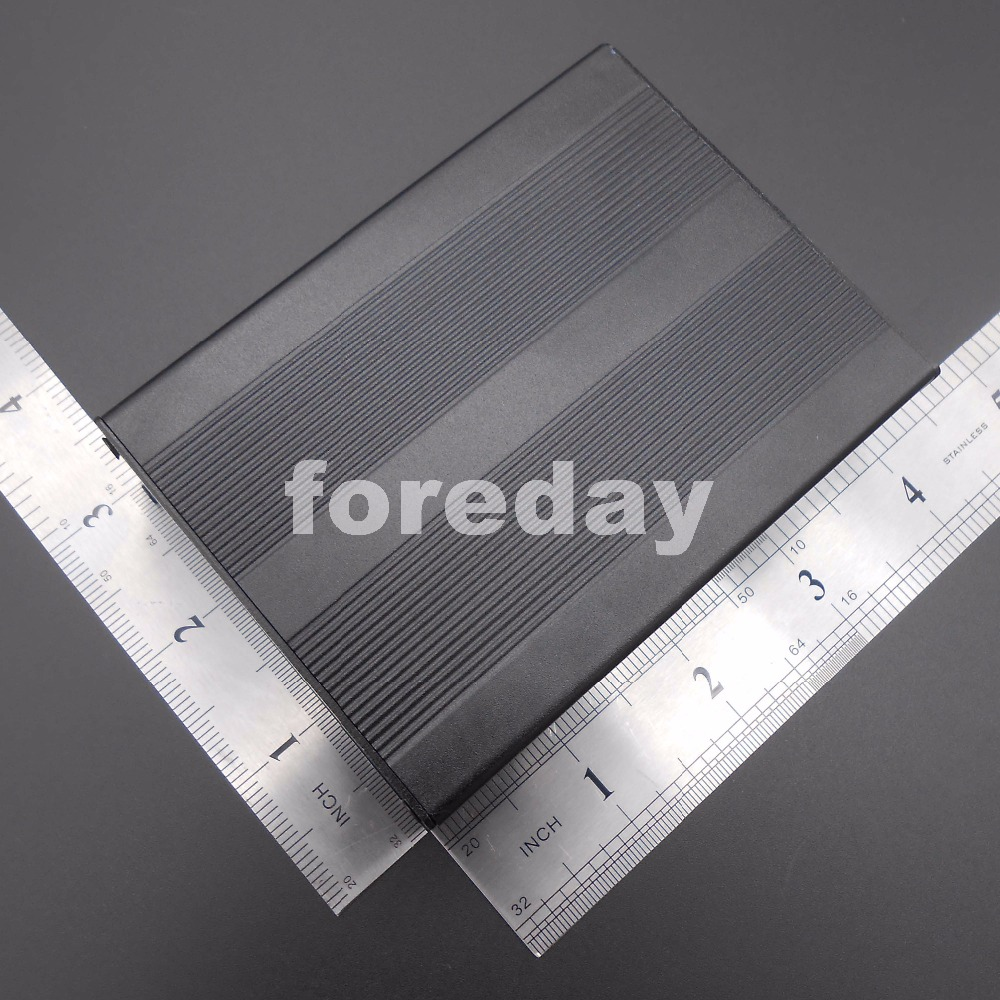 5PCS Black 100x76x35mm  Aluminum Project Electronic components box  Instrument Case Electronic DIY case  NEW * FD074X5