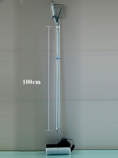 Tööriistaga värvimisrull mustriga 100cm, pikendatud pulgaga värvitu värvimisrull