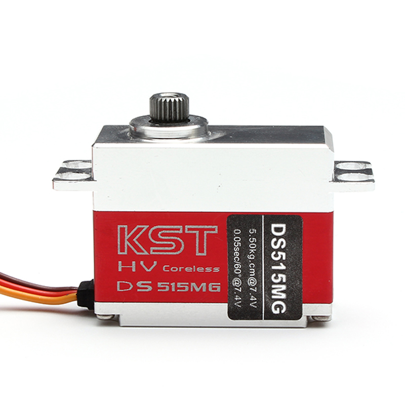 купить KST DS515MG HV Metal Gear Digital Swashplate / Tail Servo for RC Helicopter дешево