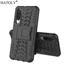 For Xiaomi Mi 9 SE Case Heavy Duty Armor Hard Rubber Silicone TPU PC Back Phone Cover for