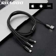 3 In 1 Usb Charging Cable Mobile Phone M
