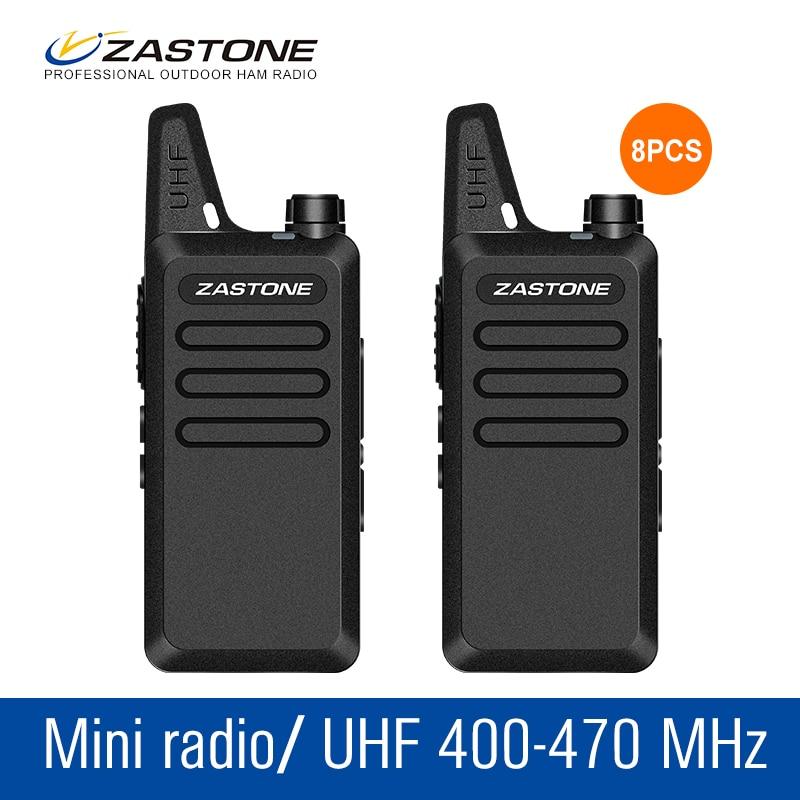 bilder für 8 Teile/los Walkie Talkie Set ZT-x6 Handfunkamateure 400-470 MHZ Mobilfunk Communicator Werkzeug Amateurfunk Kinder Radio