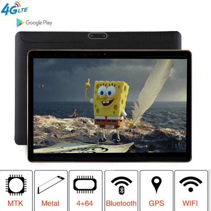 Newest  T805C the tablet 3G 4G LTE FDD Android 8.1 8 Octa Core RAM 4GB ROM 64GB WiFi GPS 10.1 IPS Screen 8MP + Gift