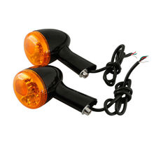 цена на Motorcycle Motorbike Rear Turn Signal LED Indicator Lights For Harley XL 883 1200 Sportster 92-16 95 99