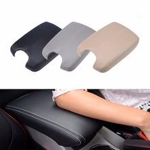 Triclicks Synthetic Leather Car Armrest Case Cover Center Console Armrest Lid Cover New Fit Honda Accord 08-15 Beige Black Grey