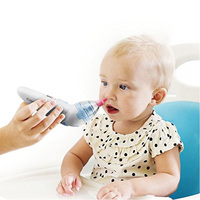 Electric Automatic Portable Nose Cleaner Baby Nasal Aspirator 3 Sizes of Silicone Tips with Hygienic Disposable Caps