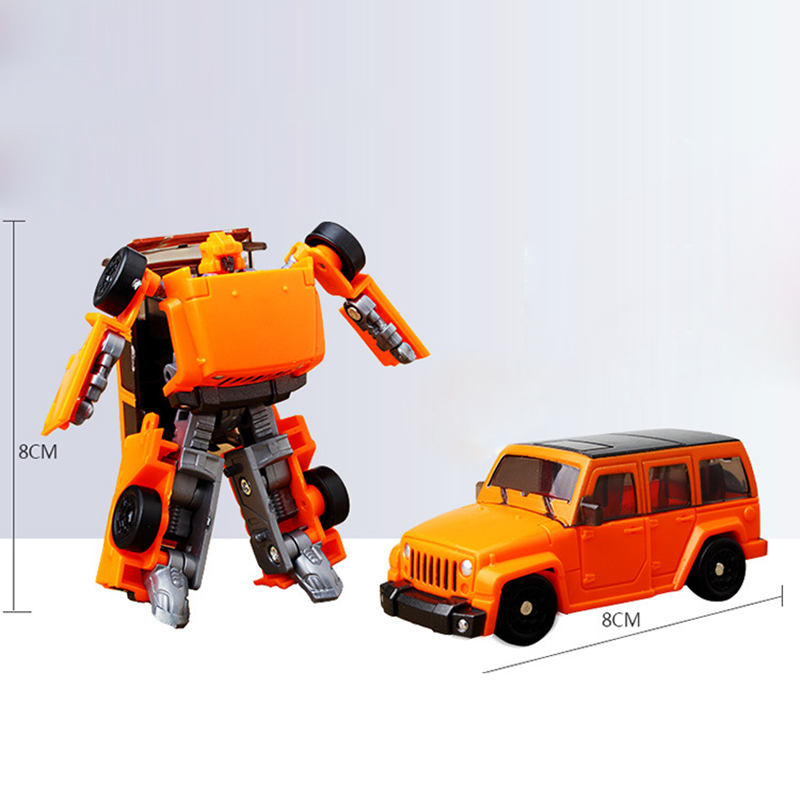 1Piece 8cm 6 Types KID <font><b>toys</b></font> Car Transforming Deformation Robot Tobot Mini Series Boy Kid Children Kids <font><b>Toy</b></font> <font><b>Transform</b></font> Robt Gift image