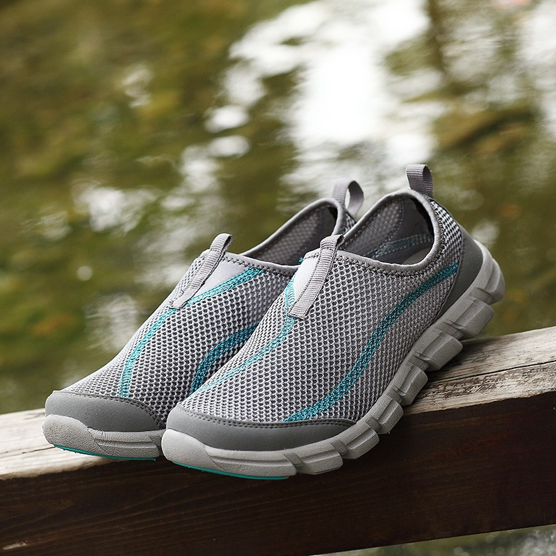 LEMAI 16 New Cool Athletic Men Sneakers Summer Breathable Mesh Sport Shoes For Men Outdoor Super Light Running Shoes FB013 13