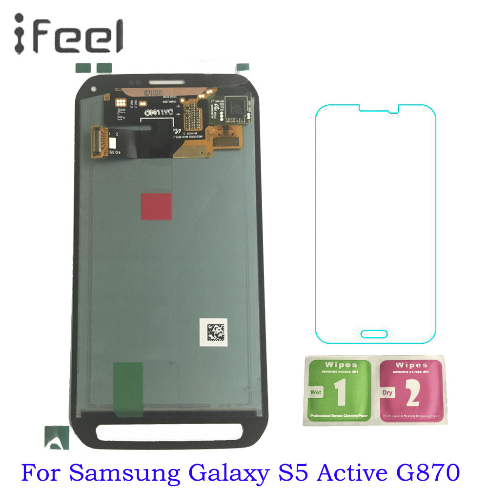 5.10 inches Super AMOLED LCD For Samsung Galaxy S5 Active G870 LCDs Display Touch Screen Digitizer Assembly Replacement5.10 inches Super AMOLED LCD For Samsung Galaxy S5 Active G870 LCDs Display Touch Screen Digitizer Assembly Replacement