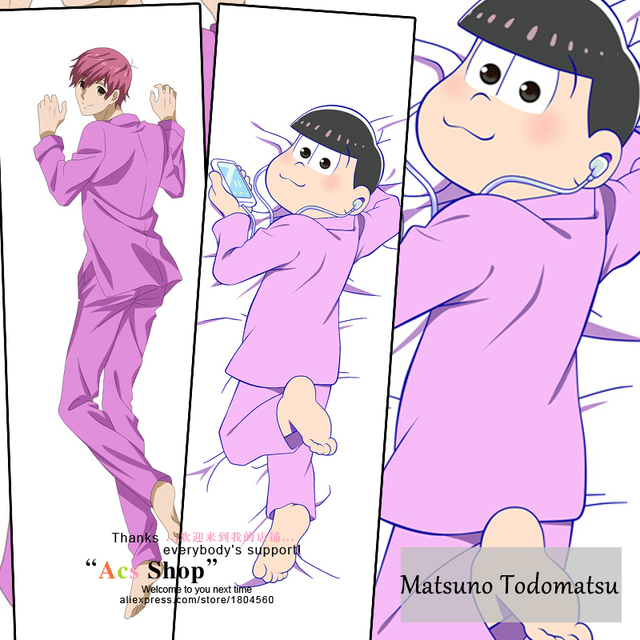 Japanese Anime Osomatsu San Funny Matsuno Todomatsu Cool Hugging Simple Funny Body Pillow Covers