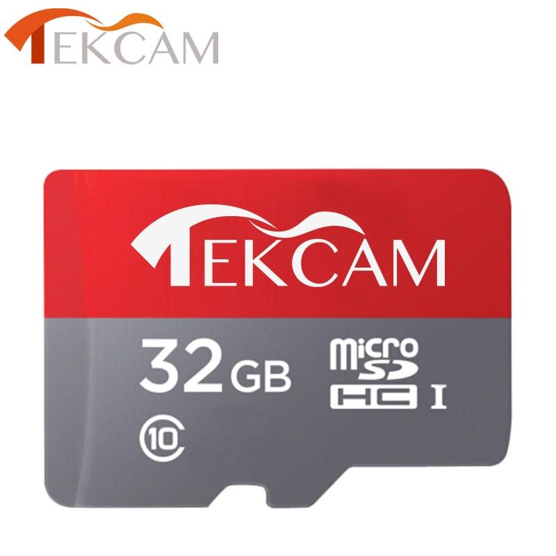Tekcam 32 GB Clase 10 tarjeta de memoria Micro SD TF tarjeta para Eken h9/h9r Gopro xiaomi yi 4 k SJCAM SJ4000 sj5000 SJ6 F60R Cámara de Acción