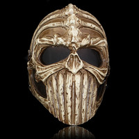 Free Shipping Army of Two Tactical Mask Halloween Full Face Resin Ghost Skull Masks Outdoor CS Wargame Paintball Airsoft Props
