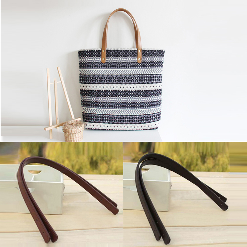 1 Pcs Bag Belt Detachable PU Leather Handle Lady Shoulder Bag DIY Replacement Accessories Handbag Band Handle Straps Band