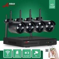 ANRAN P2P 4 8CH HD Network Wifi NVR 720P Plug Play 3 Array IR Waterproof Outdoor