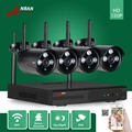 ANRAN P2P 4 /8CH Wireless NVR Plug Play Array IR Waterproof Outdoor 720P Wifi IP Camera Video Security CCTV System