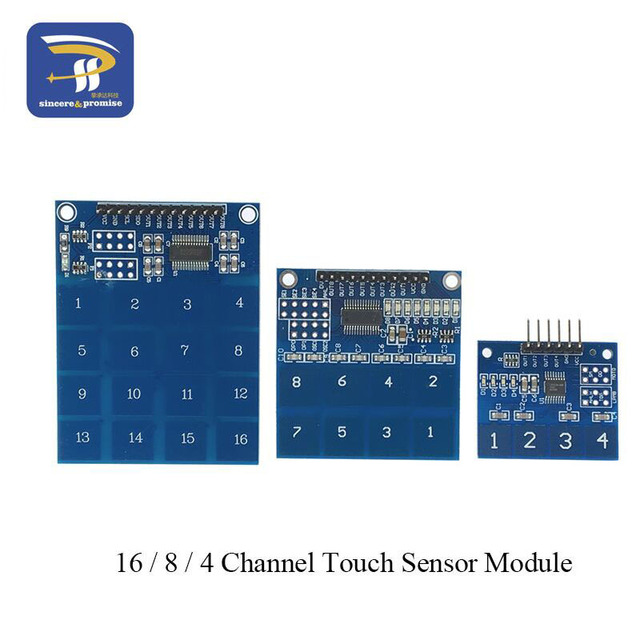TTP224 / TTP226 / TTP229  Switch Touch Sensor Digital 4 / 8 / 16 channel Touch Capacitive Module