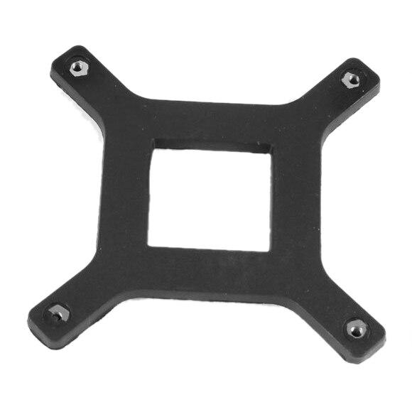 2 Pcs CPU Heatsink Fan Bracket Backplate for Socket LGA775 Motherboard socket lga 775 motherboard backplate iron bracket cpu