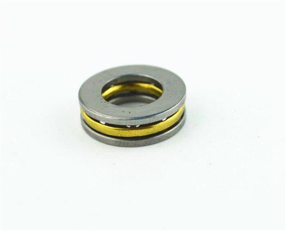 Купить с кэшбэком 10PCS F2-6M F2.5-6M F3-8M To F8-16M Mini 3-in-1 Surface Bearing Axial Ball Bearing Thrust Bearing Roller Bearing