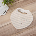 2017 Newborn Baby Bibs Cotton Towel Triangel Print Bandana Toddler Scarf Baberos Bebes Infant Burp Cloth 3-24M Random Color