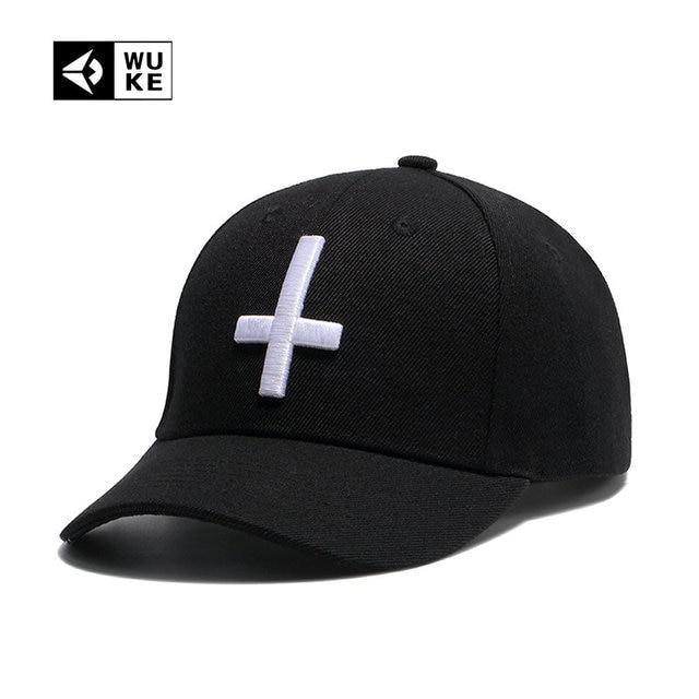 WUKE  gorras hombre gorras mujer beisbol gorras planas hip hop sombrero  hombre Gorra de 6d7a2274c5c