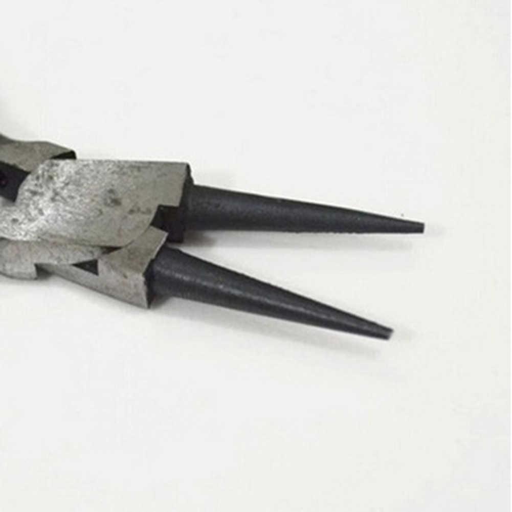 Cortador de cables portátil, alicates de corte lateral, abalorio artesanal DIY, herramienta de joyería DIY, Alicates de punta de aguja hechos a mano con cuentas