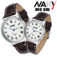 Rome Number Fashion Men Women NARY Top Brand Sport Wristwatches High Quality Leather Couple S Watch