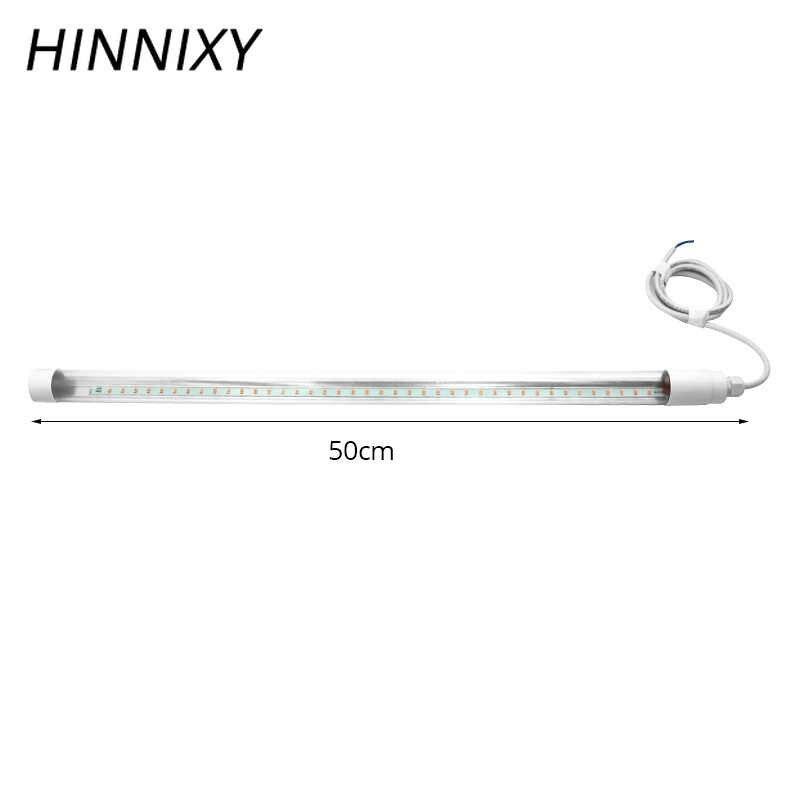 Hinnixy 50 см светодиодный светильник для роста растений, ламповый аквариум, лампа полного спектра, 3 Вт, 220 В, освещение для выращивания растений, для продвижения, подсветка для рассады