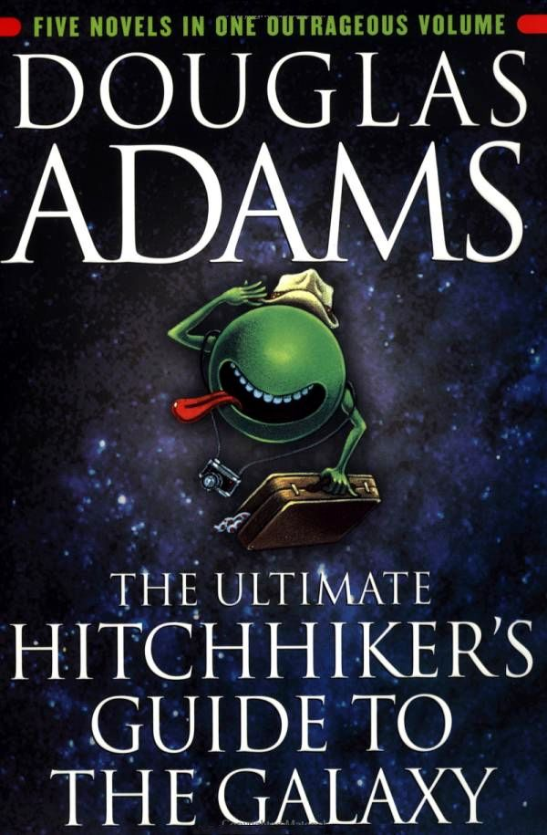 The hitchhiker's guide to the galaxy by douglas adams | volume 63.