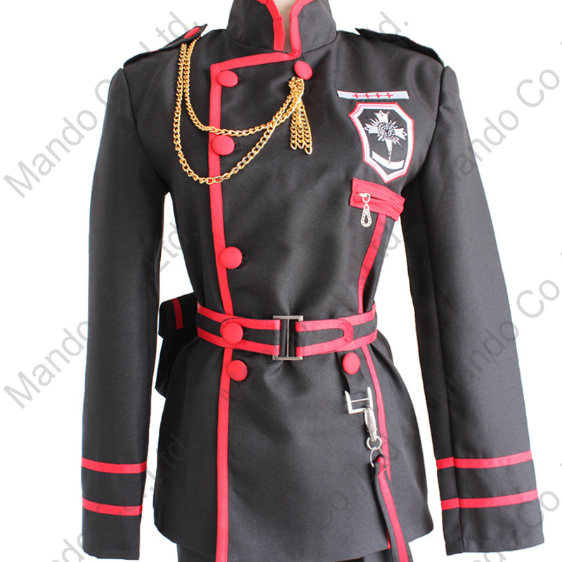 Anime D.Gray-man Allen Walker Cosplay Costumes Man uniform Suit - Costumes - Photo 5